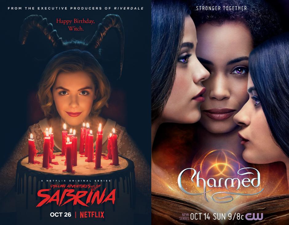 Sabrina vs Charmed