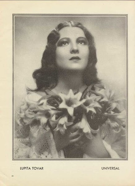 Lupita Tovar. Photo: Wikipedia/produced by Universal pictures