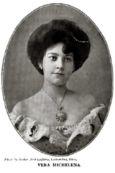 Vera Michelena. Photo: Wikipedia. Everybody's Magazine, 1904