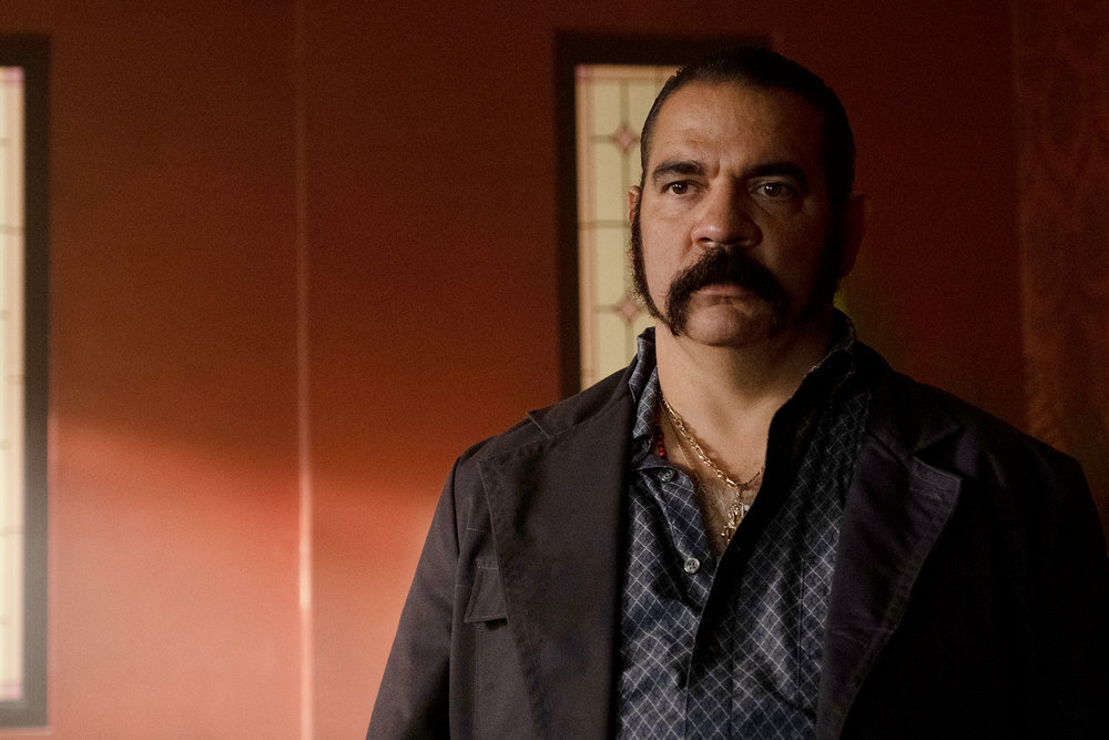 """QUEEN OF THE SOUTH -- """"Fantasmas"""" Episode 501 -- Pictured: Hemky Madera as Pote -- (Photo by: Patti Perret/USA Network)"""