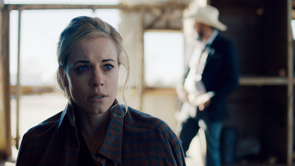 """QUEEN OF THE SOUTH -- """"Everything I Touch"""" Episode 508 -- Pictured in this screengrab: Molly Burnett as Kelly Anne Van Awken -- (Photo by: USA Network)"""