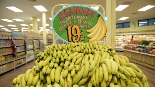 19 cent bananas, courtesy of Metro US